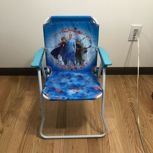 Frozen Patio Fold Up Chair NWT